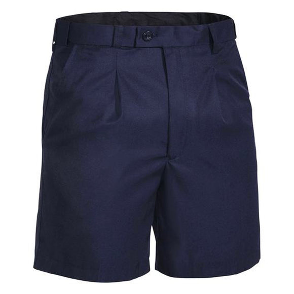 BISLEY PERMANENT PRESS SHORT SHORTS NAVY