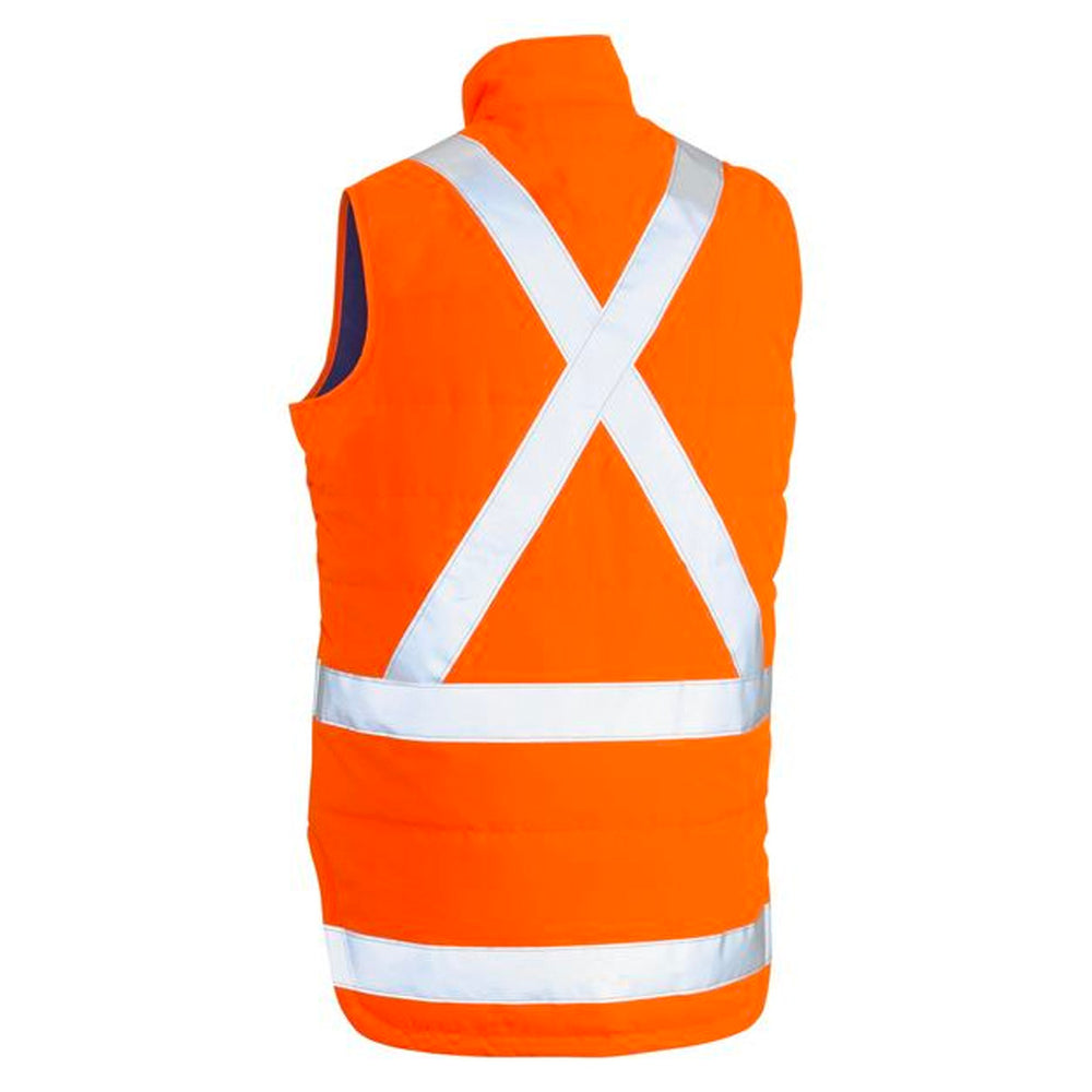 BISLEY PUFFER VEST X TAPED ORANGE