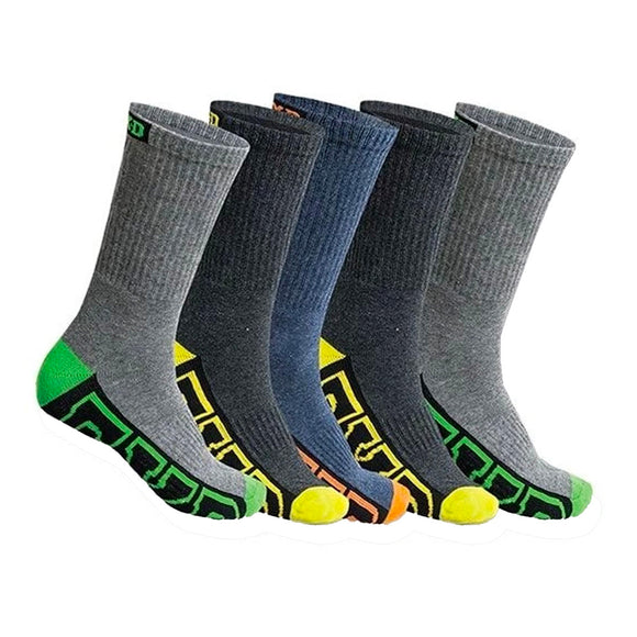 FXD SK-1 LONG SOCK 5 PACK MULTI