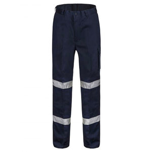 WORKCRAFT MIDWEIGHT MODERN FIT CARGO REG PANTS NAVY