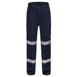 WORKCRAFT MIDWEIGHT MODERN FIT CARGO SHORT PANTS NAVY