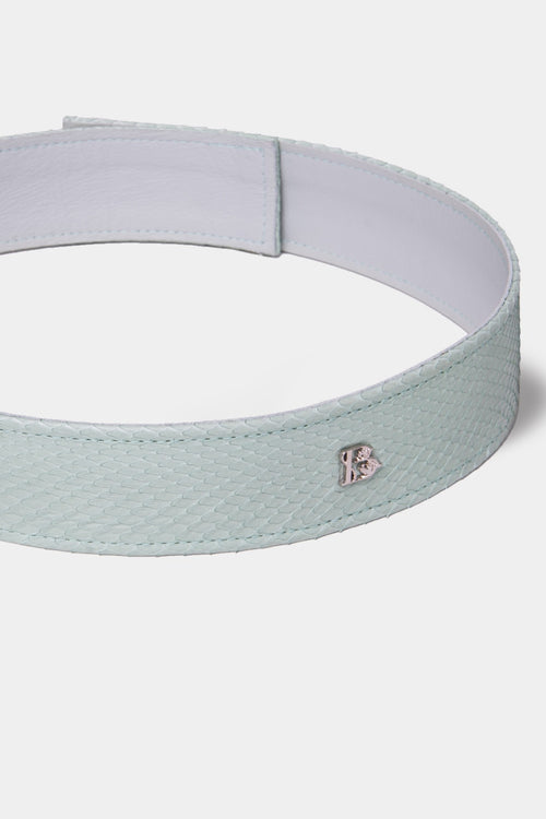 MIST GREEN PYTHON KIDS BELT