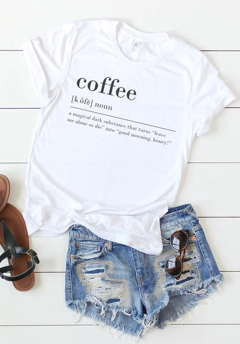 Coffee Definition Tee
