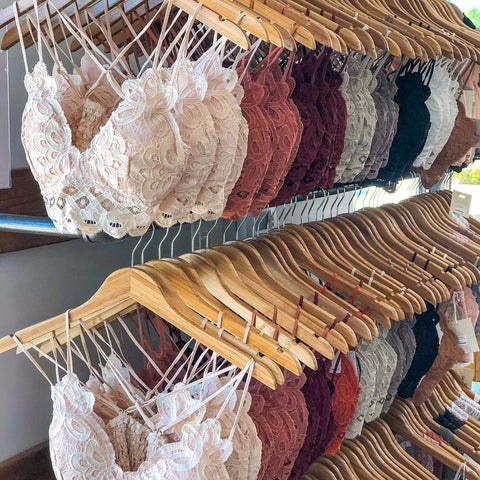 Sophia Bralettes - NEW Colors!