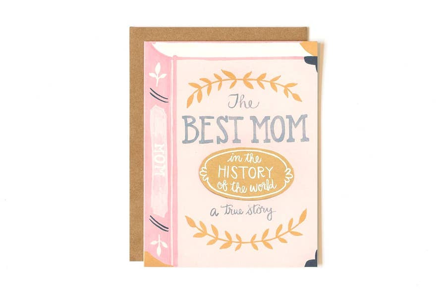 Mother's Day Card - Best Mom