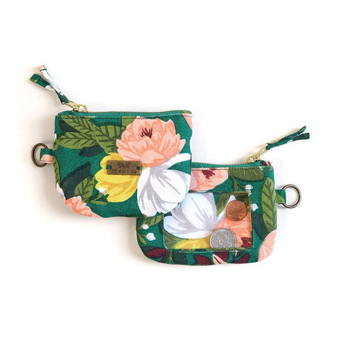 Ambrose Floral Keychain ID Wallet