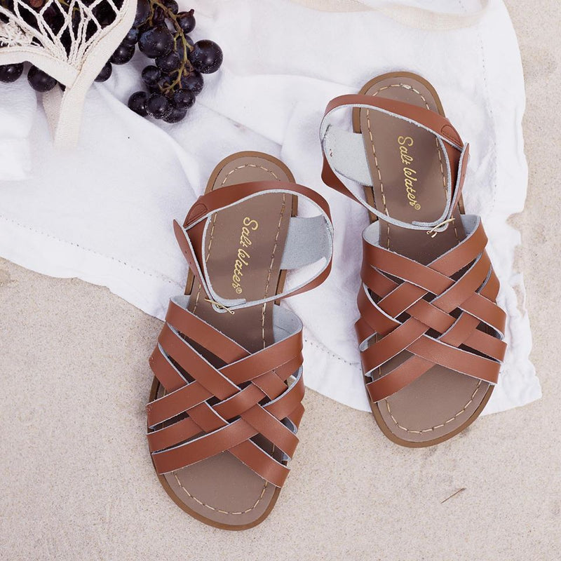 Salt Water Sandals- Retro Tan