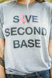 Awareness Second Base Tee - 100% of Proceeds Donated!