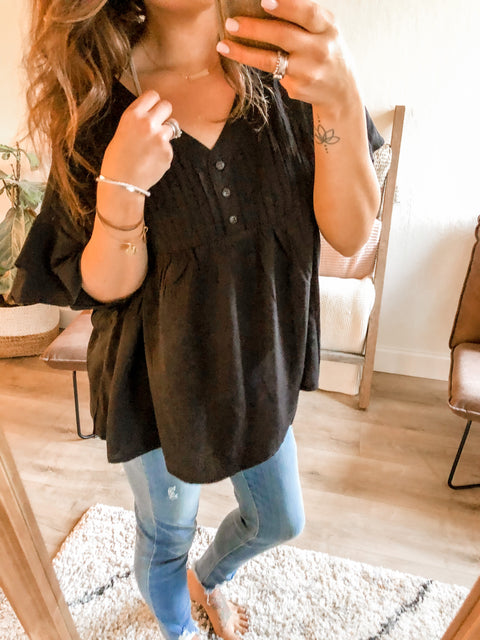 Beth Top - Black