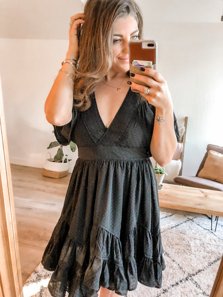 Night Out Dress- Black