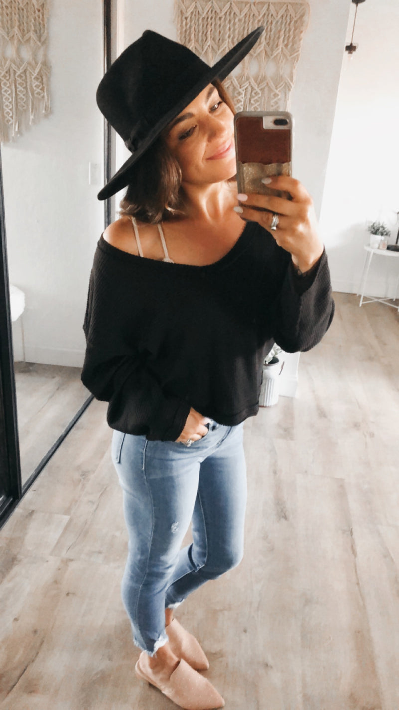 Hadlee Top - Black