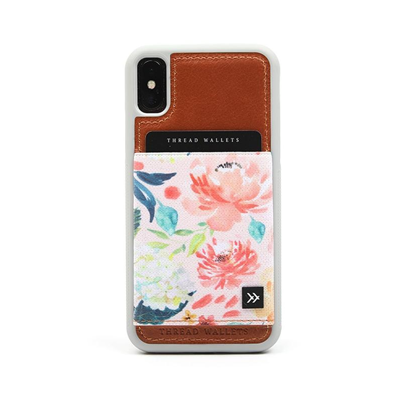 Thread Wallet Phone Case- X/SX