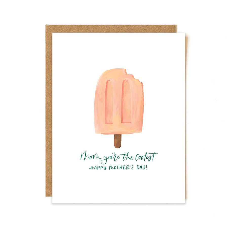 Mother's Day Card - Popsicle