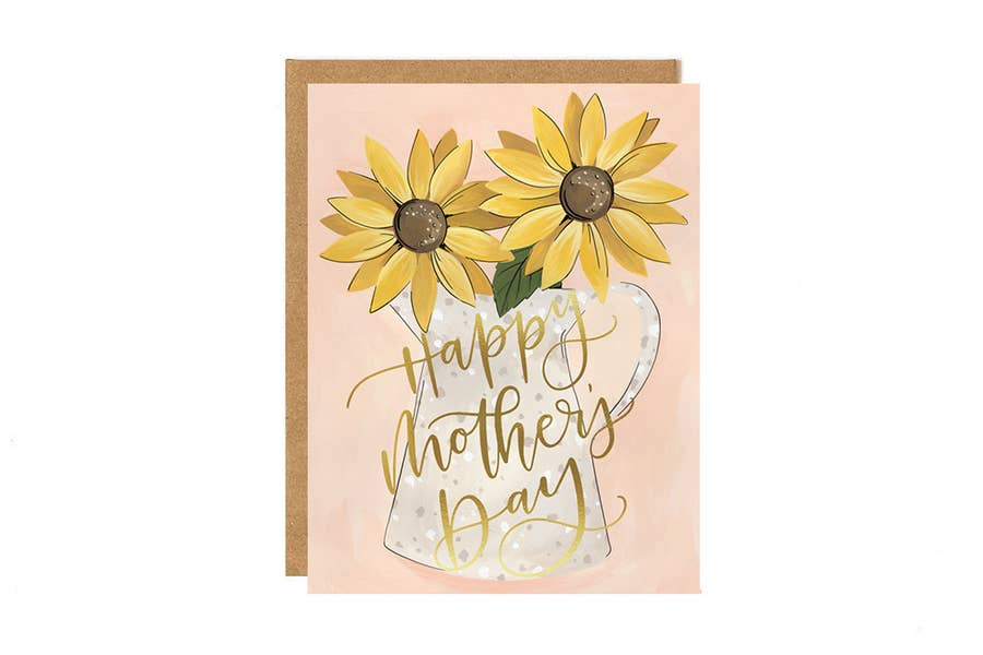 Mother's Day Card - Sunflower