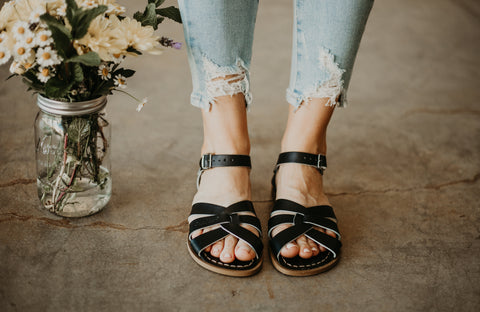Salt Water Sandals - Black