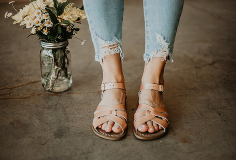 Salt Water Sandals - Rose Gold