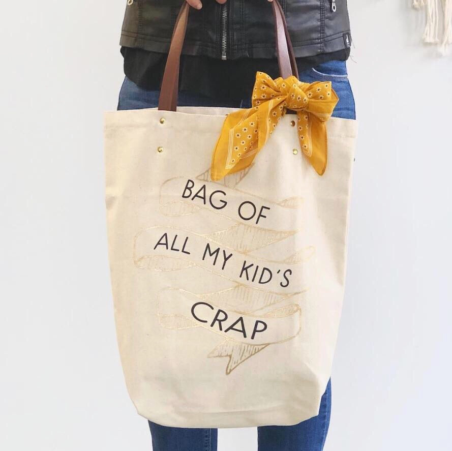 Kid's Crap Tote Bag