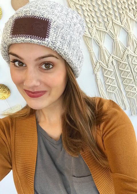Love Your Melon Beanie - Custom Bayabelle Logo