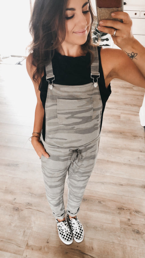 Camo Pant Overalls