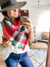 Favorite Blanket Scarf - Holiday Red & Green