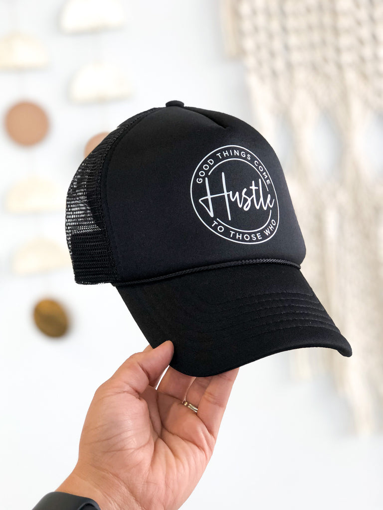 Good Things Hustle Trucker Hat