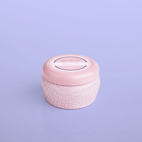 Capri Blue Volcano Mini Tin- Pink