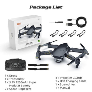 1080p HD  Quadcopter Drone with WiFi X Pro RC FPV - Paul's Mall for All