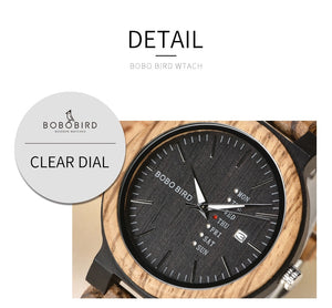 Elegance Refined Wooden Timepiece Men's Watch - Paul's Mall for All