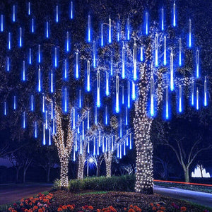 Outdoor Waterproof LED Meteor Shower String Lights Multiple Colors Available - Paul's Mall for All