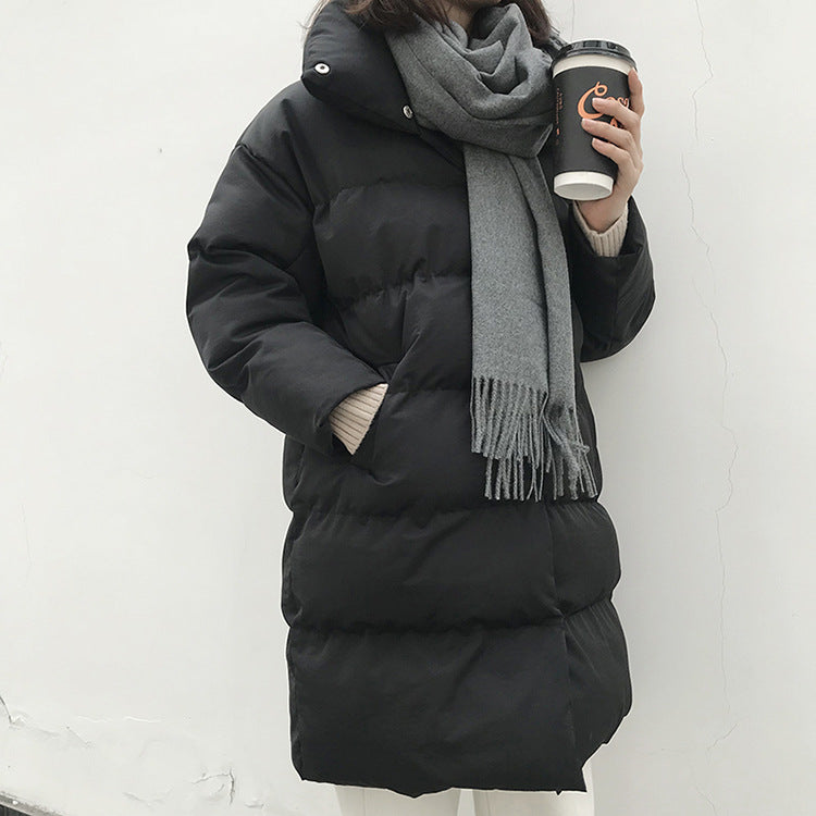 Long Puffer Down Jacket for Women in 3 available colors - Paul's Mall for All