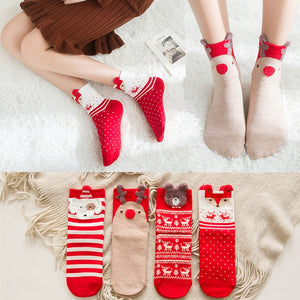 Cute Christmas Holiday Themed Socks for Women or Kids - Paul's Mall for All