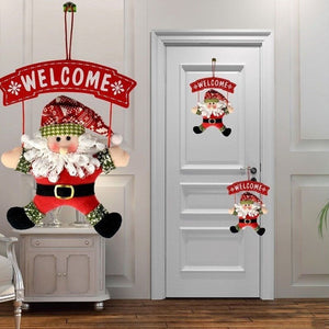 Christmas Holiday Themed Door Hanging Decoration - Paul's Mall for All