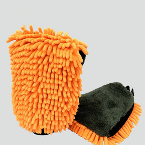 Microfiber Car Wash Gloves Car Cleaning & Detailing Tool - Paul's Mall for All