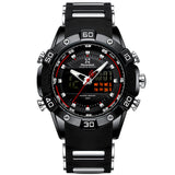 LED Multi-function Dual Display Quartz Luxury Men's Watch - Paul's Mall for All