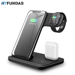 Wireless Charging Stand Holder Dock For Apple, Samsung, Smartwatches and More - Paul's Mall for All