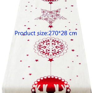 Christmas Holiday Themed Decorative Table Runners/Tablecloth with 6 styles to choose from - Paul's Mall for All