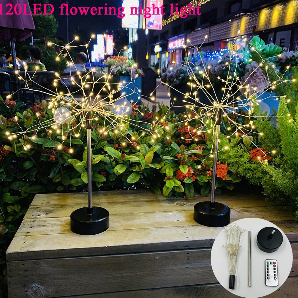 DIY 120 LED Fairy String Foldable Battery Powered Christmas Lights - Paul's Mall for All