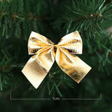12 piece Bow-tie Christmas Tree Ornament Decoration - Paul's Mall for All