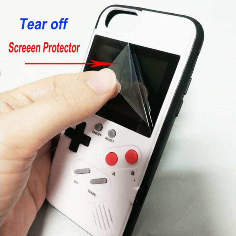 36 Game Color Screen Retro Gameboy Playable iPhone Case