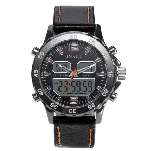 Multi-Function Analog+Digital LED Men's Waterproof Watch - Paul's Mall for All