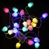 Battery Powered 2.2M 20 Led Lights Colorful Holiday Lights for Outdoors or In - Paul's Mall for All