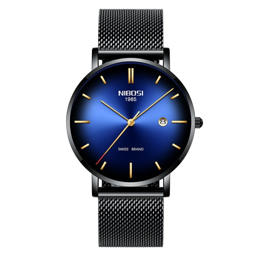 Simple Swiss Fashion Stainless Steel Quartz Men's Watch in multiple styles - Paul's Mall for All