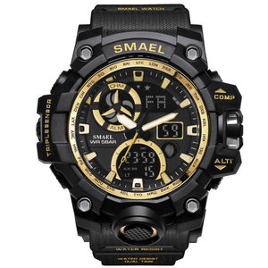 Multi-Function LED Dual Analog + Digital Display Men's Sport Watch - Paul's Mall for All