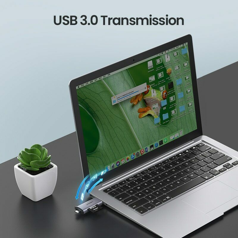 Multi-function Card Reader USB 3.0 to Type C to SD Micro SD TF Adapter Smart Memory SD Card Reader - Paul's Mall for All