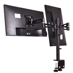 Adjustable Monitor Mount for Dual LCD Flat Screen Monitor - Paul's Mall for All