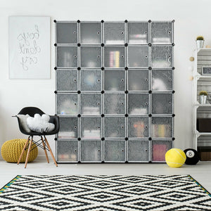 DIY 30 Cube Portable Closet Clothes Wardrobe Cabinet - Paul's Mall for All