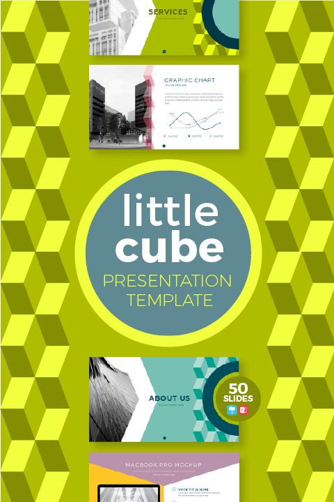 Plantilla Little Cube