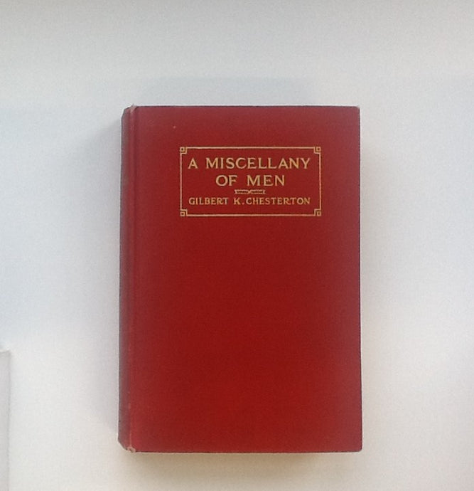 A Misscellany of Men