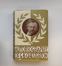 Load image into Gallery viewer, Autobiography of G.K. Chesterton