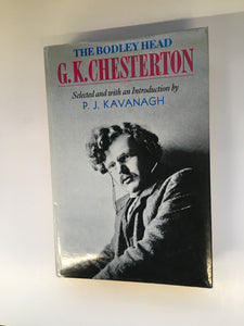 The Bodley Head G.K. Chesterton